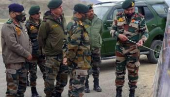 India China Army Firing Ladakh