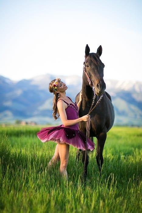 Ballerina  Horses Styled Shoot
