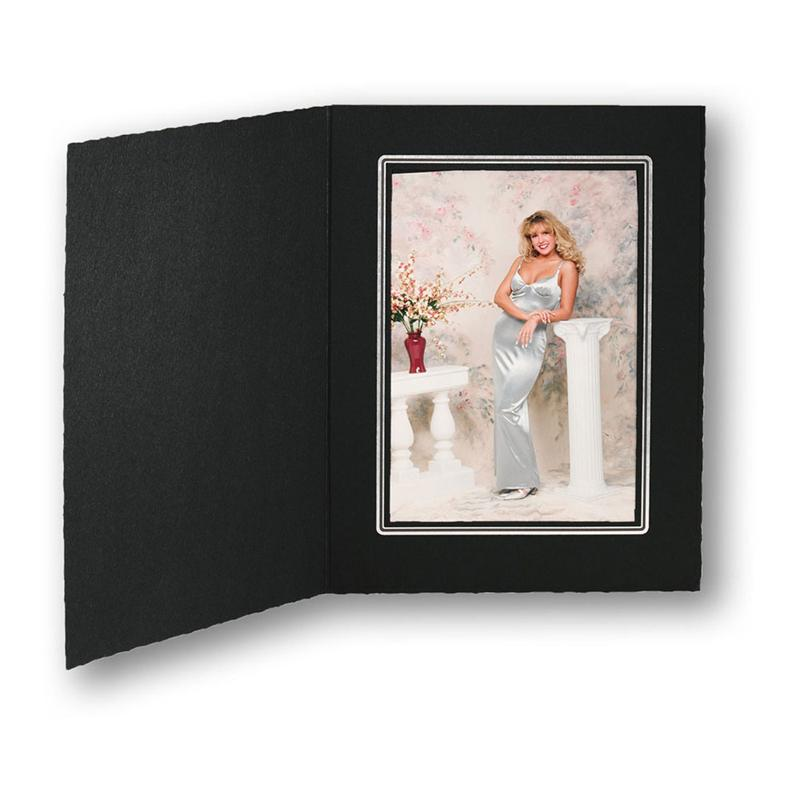 TAP Folders Cal EbonySilver Cardboard Picture Frames and