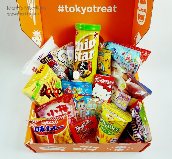 Tokyotreat Japanese Candy Review September  Japanese Characters Unboxing
