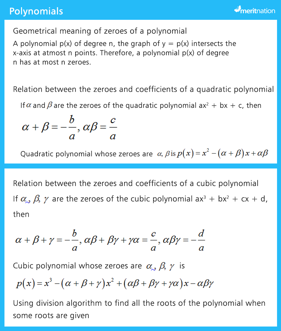 Cbse Class 10 Maths Important Questions For Sa1
