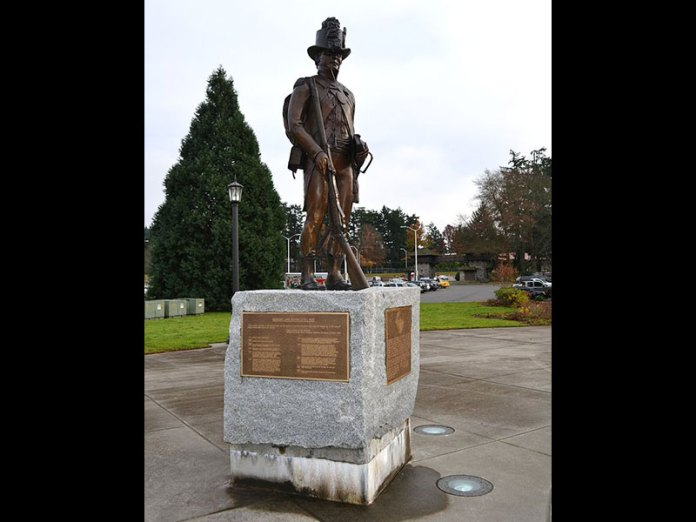 Sgt. John Ordway Statue at Fort Lewis