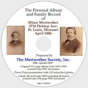 Minor Meriwether Personal Album