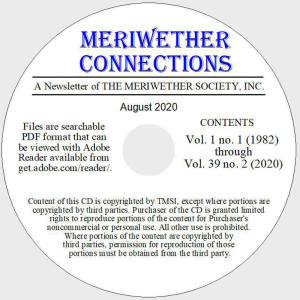 Meriwether Connections CD