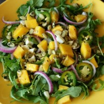Arugula Mango Salad Recipe