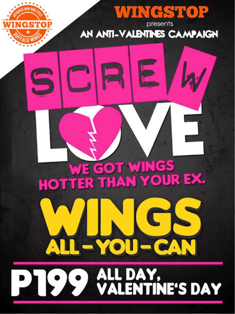 Screw love—Wingstop