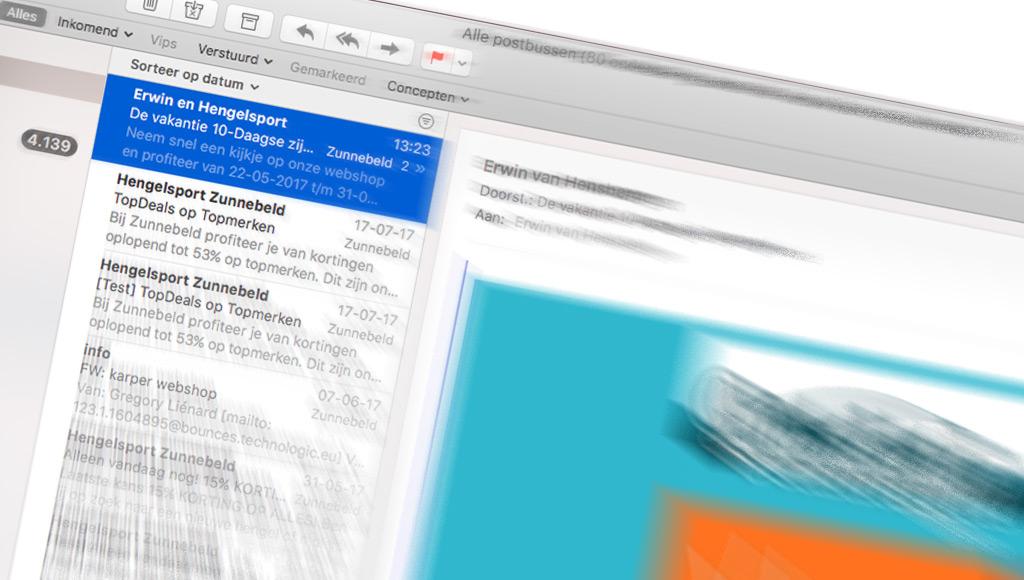 Gebruik een pakkende titel voor je nieuwsbrief