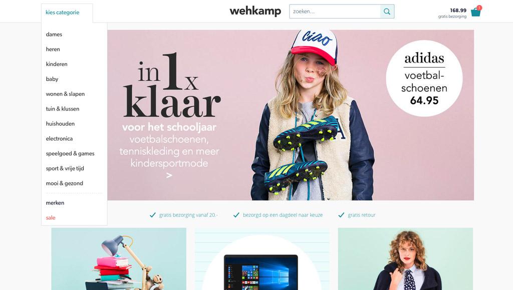 Wehkamp.nl inspireert