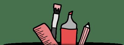 Diensten Freelance vormgever