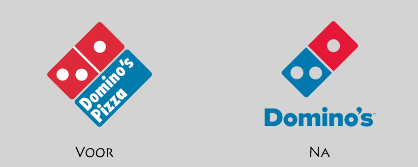 Redesign Domino's logo