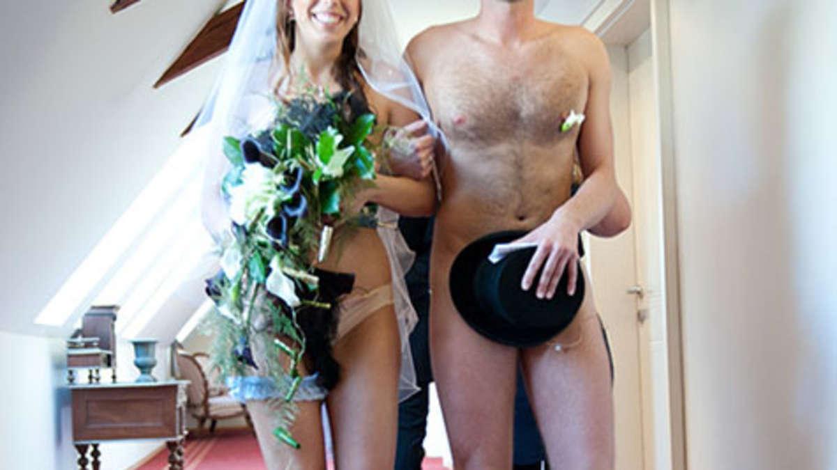 NacktHochzeit in sterreich Die Bilder  Welt