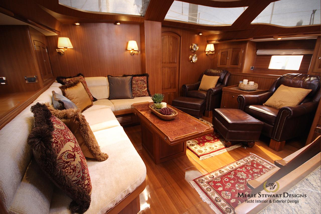 Hylas Yachts  Upholstery  Interior DesignMerle Stewart
