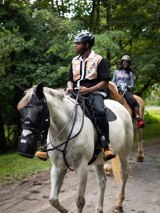 Kwame Riding Horse