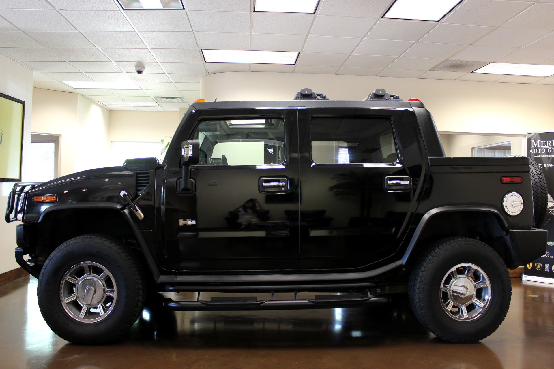 Used 2007 HUMMER H2 SUT stock P3071 Ultra Luxury Car from Merlin