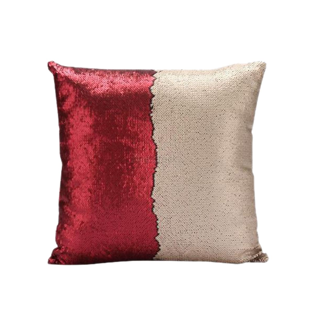 Red Champagne Mermaid Pillow  Mermaid Pillows