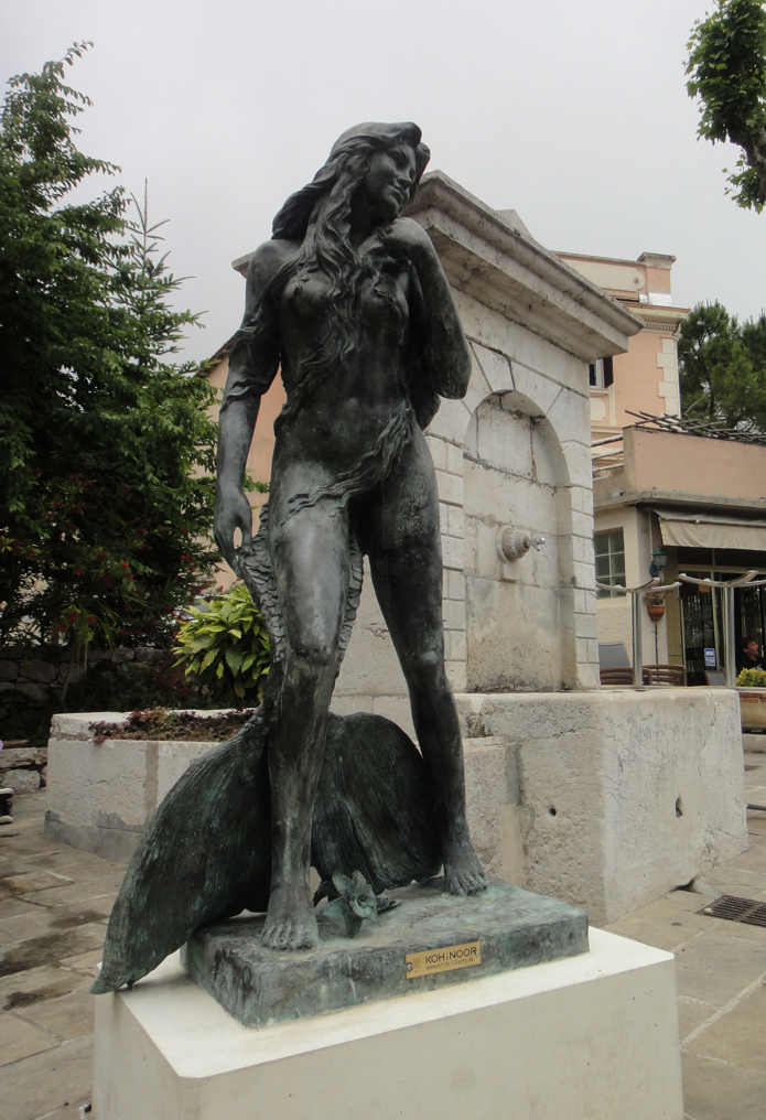 Ama d'Eze Mermaid Statue