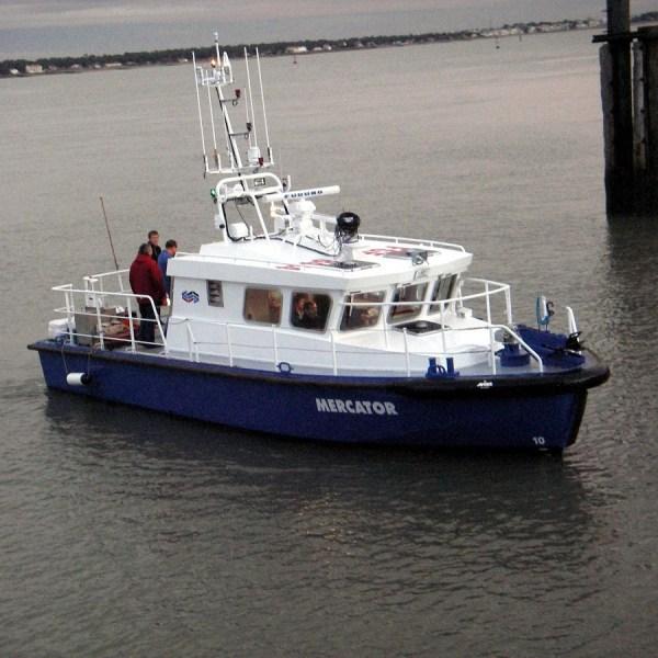 Vedette hydrographique SEEM 12-340ST