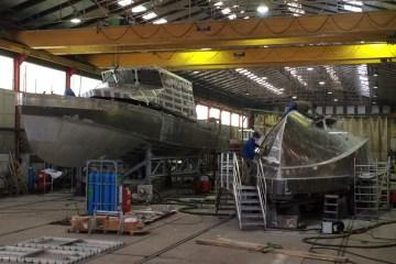 Construction de deux vedette de pilotage de 19,7 m