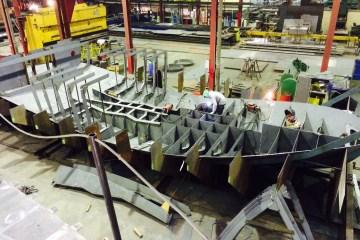La construction d'un nouveau Remorqueur SEEM 14-1000ST a débuté