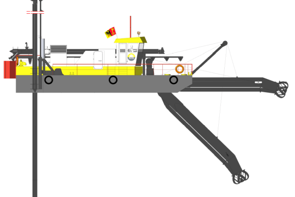 Un nouvel ensemble de drague aspiratrice propulsée par un navire multifonction
