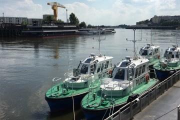 Les pilotines SEEM 12-530AL en essais à Nantes