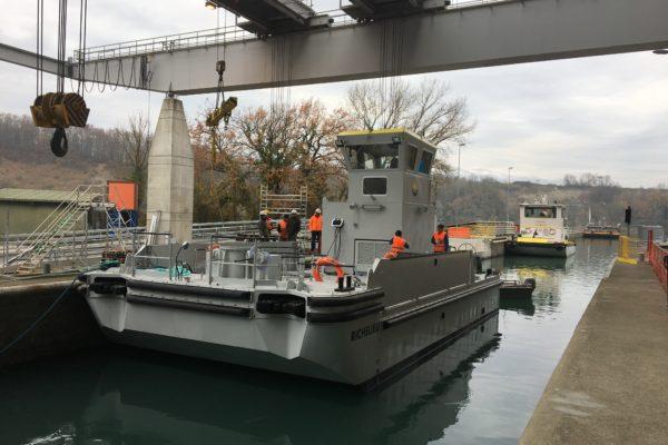 Barge multiservice SEEM 14-120ST « Richelieu »