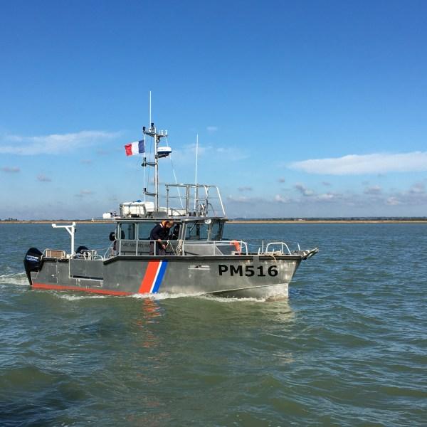 CIB achève une vedette de surveillance pour le Parc nationale marin de Mayotte