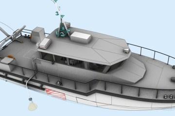 Vedette hydrographique pour le Grand Port Maritime de Dunkerque