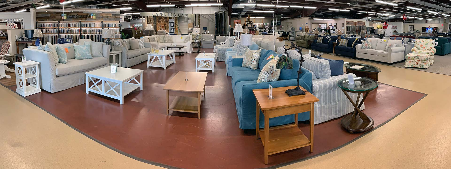 The 3 types of leather differ in how they are processed, which affects appearance, durability, and cost. Maine furniture store offering living room furniture ...