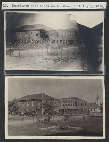 Merrimack Hall added 1920