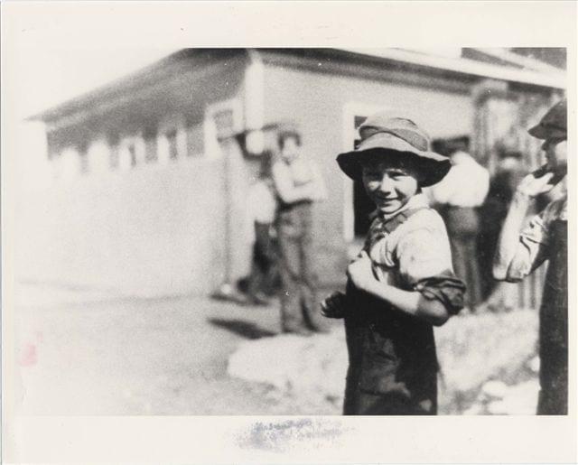 Merrimack Mill 10 year old worker 1913