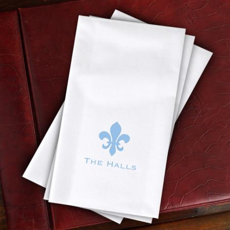 Designer Paper Linen Guest Towels