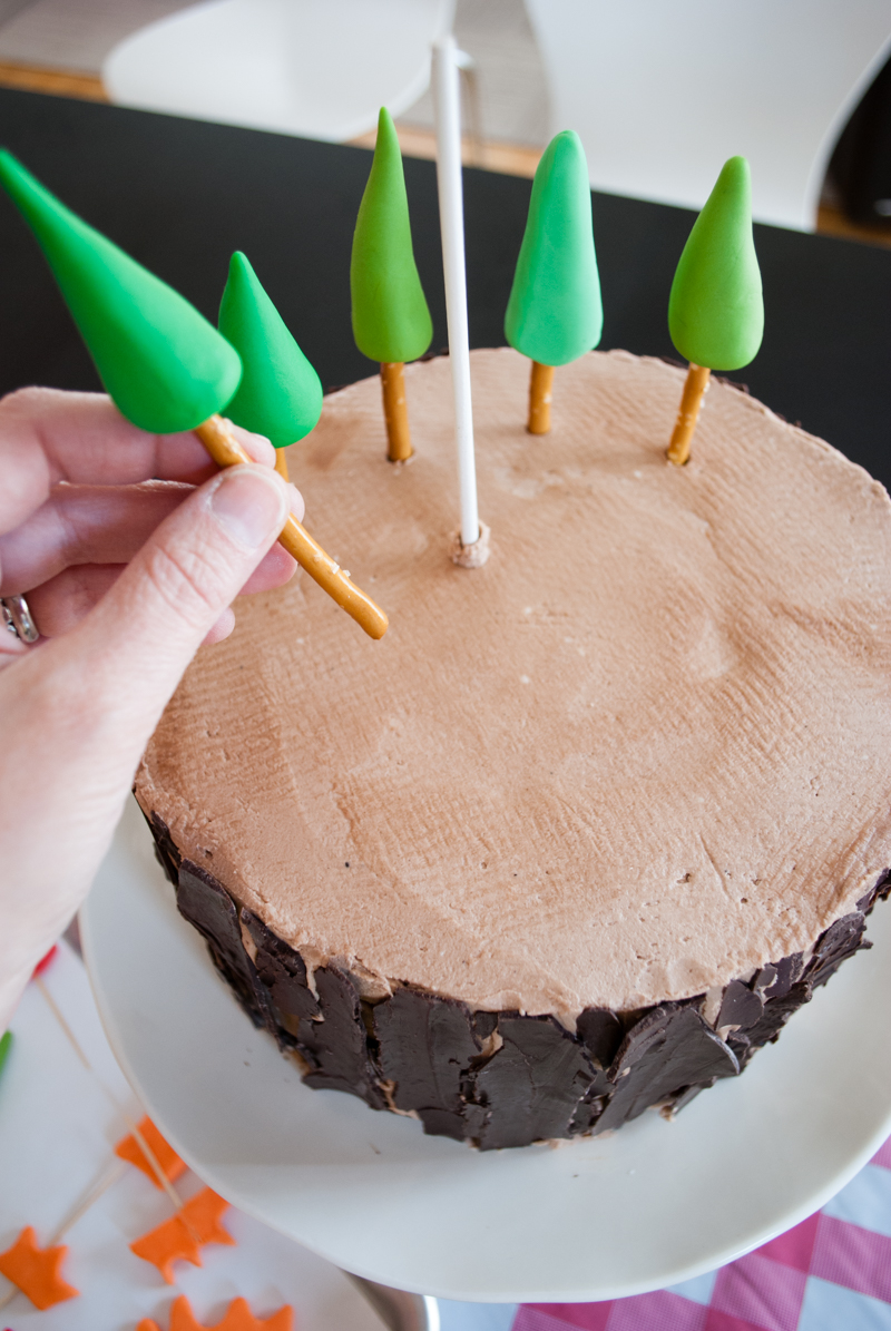 Easy Diy Planes Fire Amp Rescue Birthday Cake With Forest