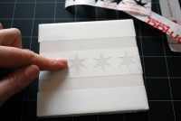 Make your own coasters with ceramic tiles and etching ...
