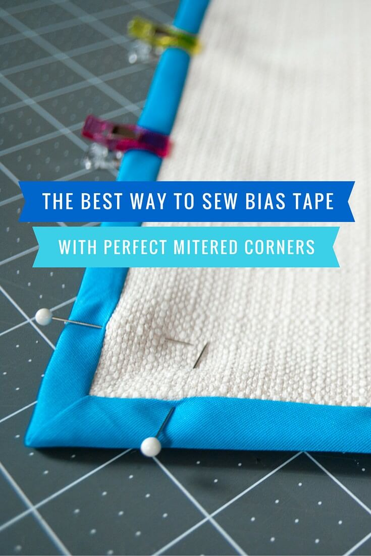 The Best Way To Sew Bias Tape With Mitered Corners photos