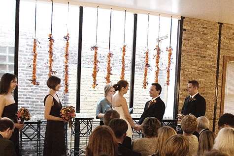 Wedding Decor :: Floral garland Kathy Beymer, Photograph by PenCarlson