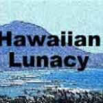 Hawaiian Lunacy luau mystery party invite
