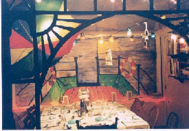 Ann's mural from her party
