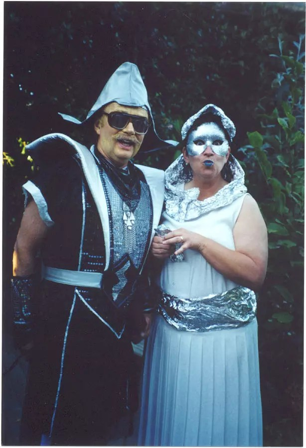 Outer space costumes photos