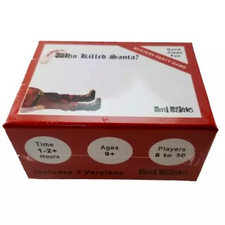Santa christmas party boxed kit