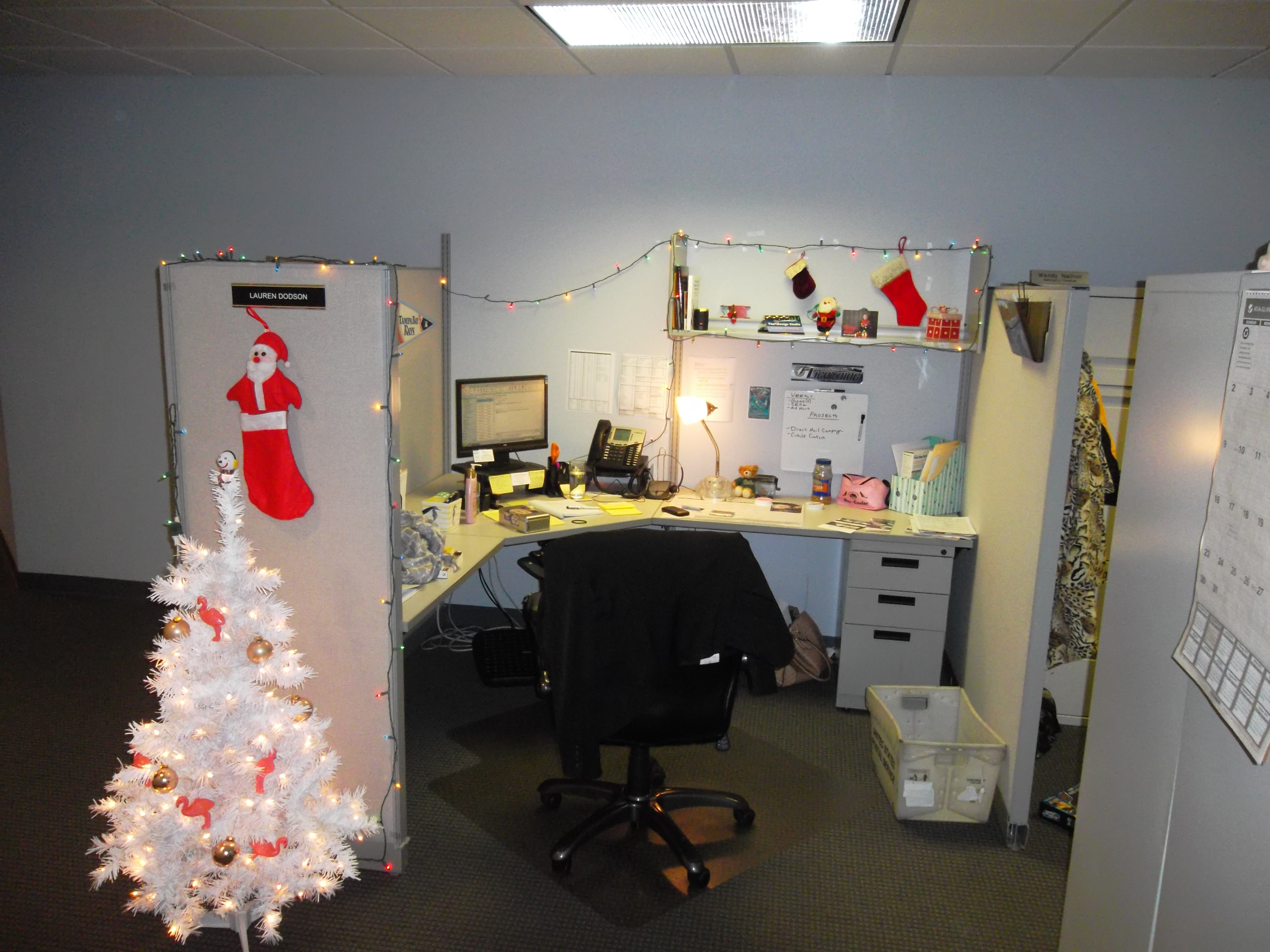 Holiday Cubicle Decorating Contest