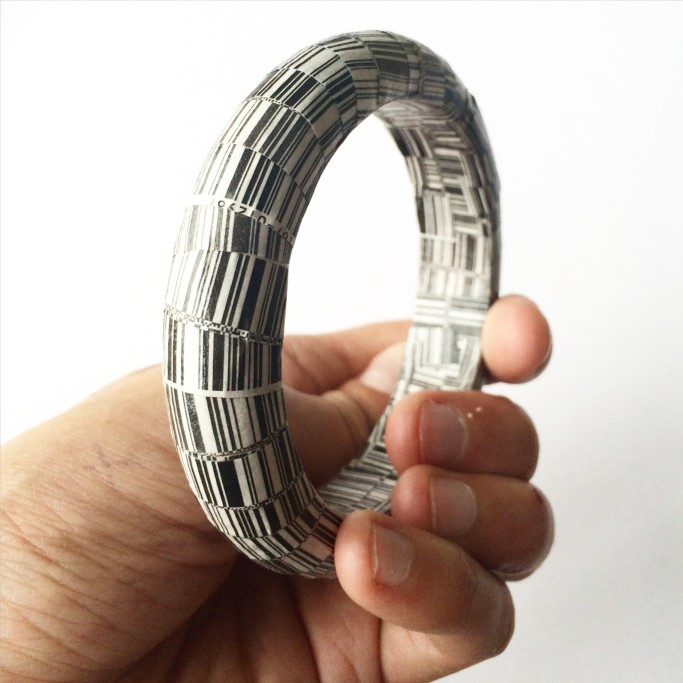 DIY decoupaged bangle bracelet   the merriweather council blog