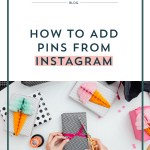 How to Add Pins from Instagram