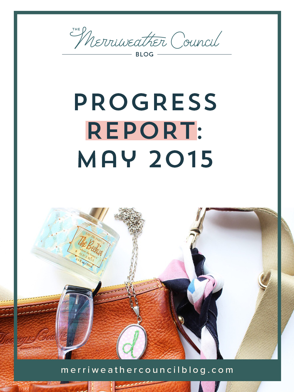 Progress report: may
