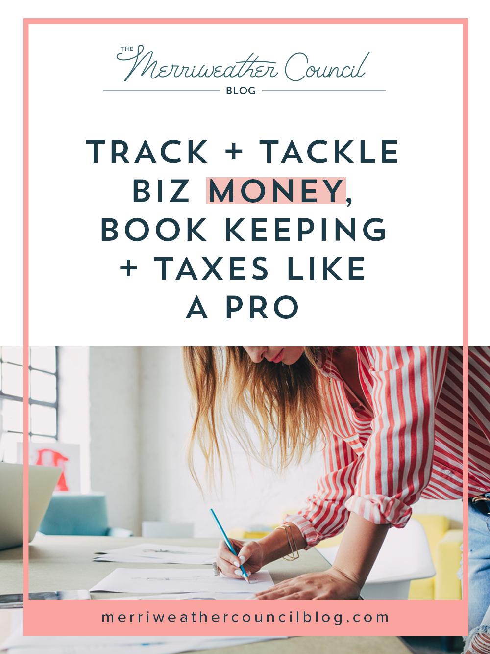 handmade shop taxes + book keeping | the merriweather council blog