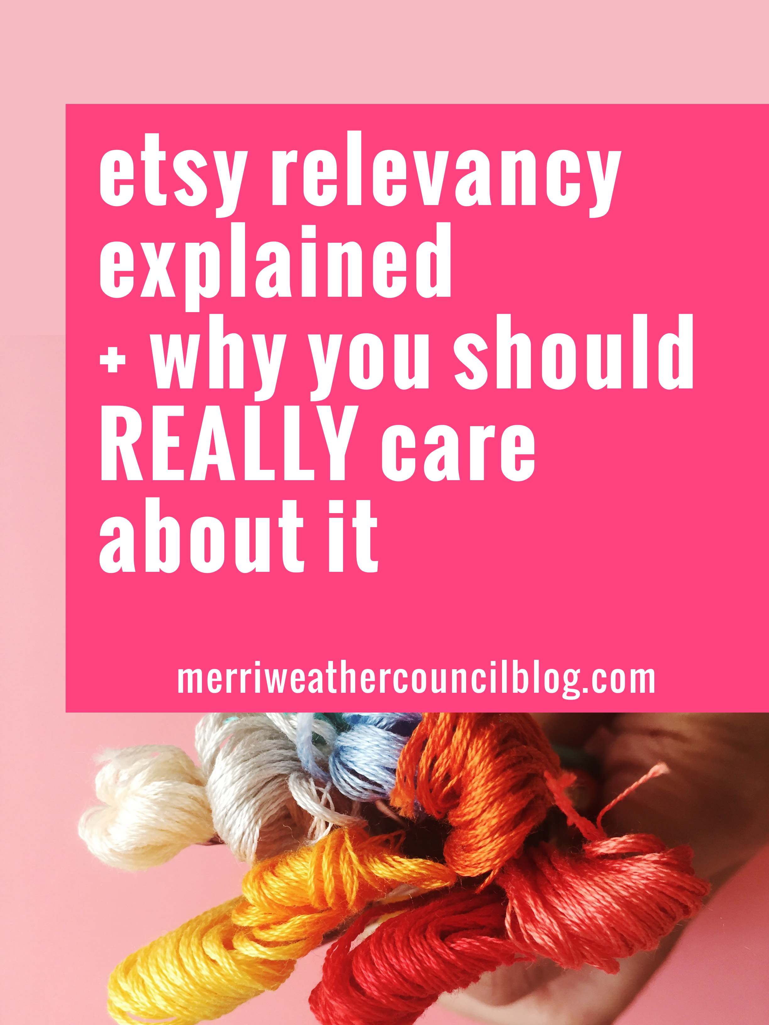 Understanding Etsy relevancy and how to get found within Etsy's search is critical to success on Etsy. Here is how to make your shop Etsy relevant.   the merriweather council blog