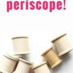 Periscope is my jam