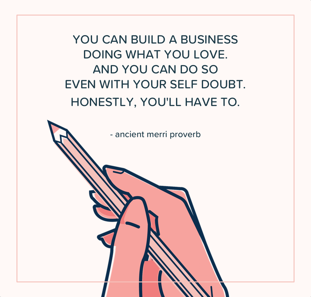 I have seen and felt in my own personal experience just how satisfying it is to build your own business and to make money doing what you love as a handmade business owner. | The Merriweather Council Blog