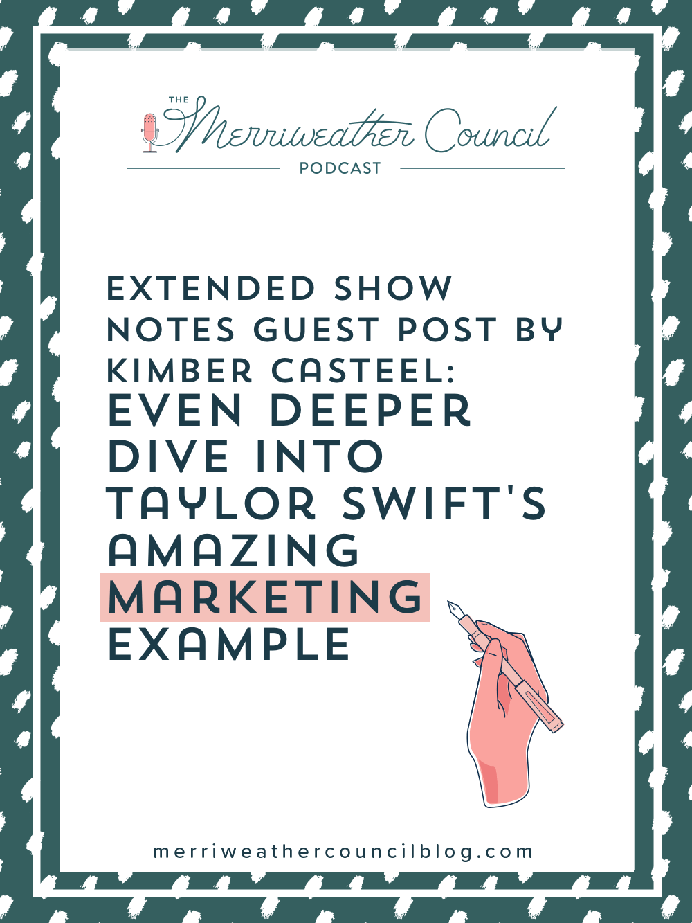 Even though Taylor Swift is running her music business on a grand scale, so many of her business practices and marketing tactics can be applied to small business and handmade sellers! Taylor Swift knows what her fans want and genius-ly brands herself. Find out why you can learn from Taylor Swift's marketing. | The Merriweather Council Blog