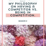 Episode 077: Competition Versus Competitors